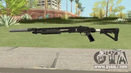 Shrewsbury Pump Shotgun GTA V V5 for GTA San Andreas