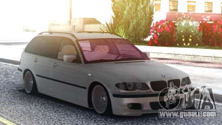 BMW 330XD E46 2001. 3l. diesel station wagon for GTA San Andreas
