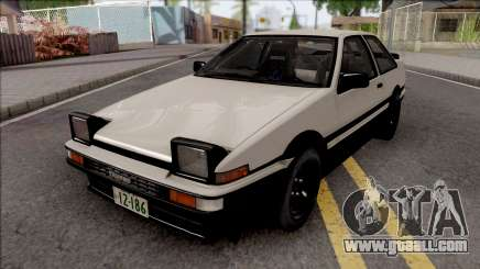Toyota Sprinter Trueno AE86 Initial D Final for GTA San Andreas