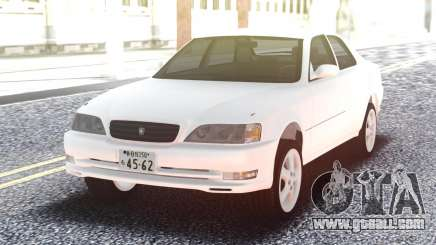 Toyota Cresta JZX100 Stock White for GTA San Andreas