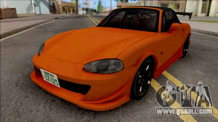 Mazda MX-5 Miata NB8c Initial D Fifth Stage for GTA San Andreas
