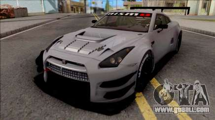 Nissan GT-R Nismo GT3 2014 Paint Job Preset 1 for GTA San Andreas