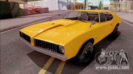 GTA V Declasse Stallion for GTA San Andreas