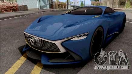 Infiniti Vision Gran Turismo 2014 for GTA San Andreas