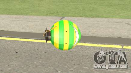 Korosensei Grenade (Green) for GTA San Andreas