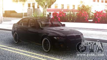 BMW M3 E90 Hamann Black for GTA San Andreas