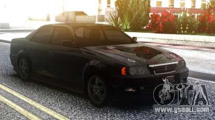 Toyota Chaser Sedan Black for GTA San Andreas