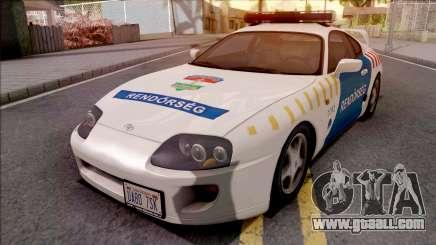 Toyota Supra Magyar Rendorseg for GTA San Andreas