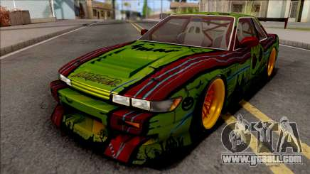 Nissan Silvia S13 1990 B-Aero Kit IVF for GTA San Andreas