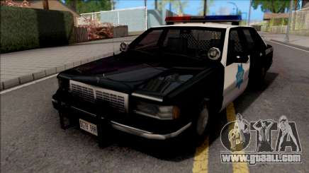 Chevrolet Caprice 1992 Police SFPD SA Style for GTA San Andreas