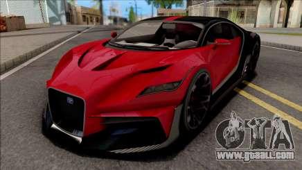GTA V Truffade Thrax Stock IVF for GTA San Andreas