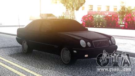 Mercedes-Benz E420 Classic Black for GTA San Andreas