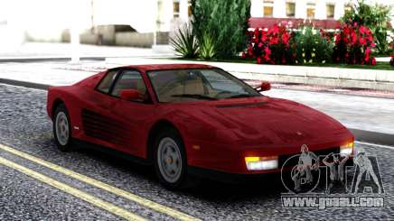 1987 Ferrari Testarossa US-Spec for GTA San Andreas