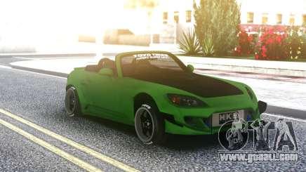 Honda S2000 Cabrio Green for GTA San Andreas