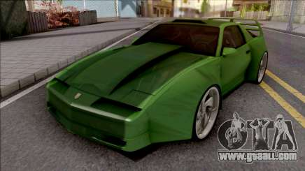 Pontiac Trans AM 1987 Green for GTA San Andreas