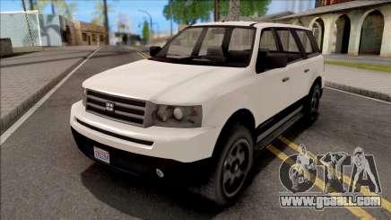 GTA V Dundreary Landstalker for GTA San Andreas