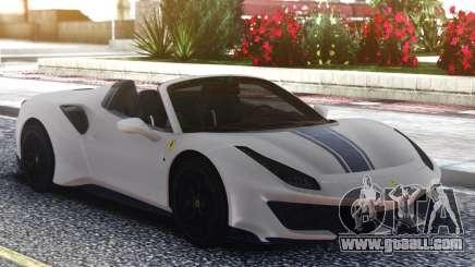 Ferrari 488 Pista Spider 2019 for GTA San Andreas