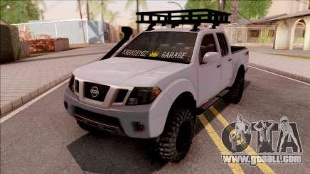 Nissan Frontier 4x4 SUV for GTA San Andreas