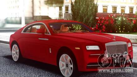 Rolls-Royce Wraith Red Coupe for GTA San Andreas