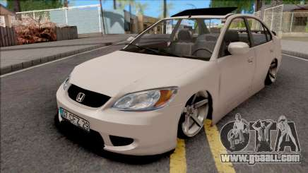 Honda Civic White for GTA San Andreas