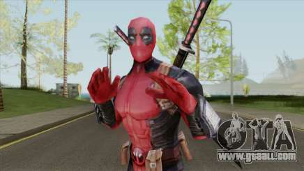 Deadpool From Marvel Super Wars for GTA San Andreas