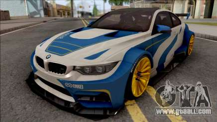 BMW M4 F82 2015 Raijin Kit for GTA San Andreas