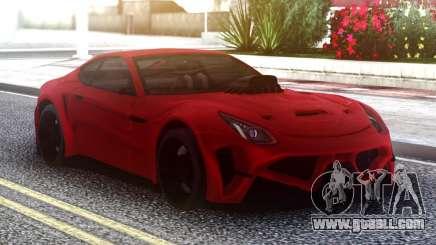 Ferrari FF Red for GTA San Andreas