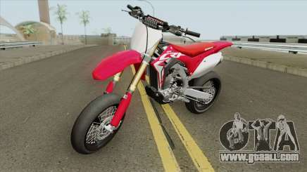 Honda CRF450R 2018 Motard for GTA San Andreas