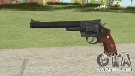 Smith And Wesson M29 Revolver (Black) for GTA San Andreas