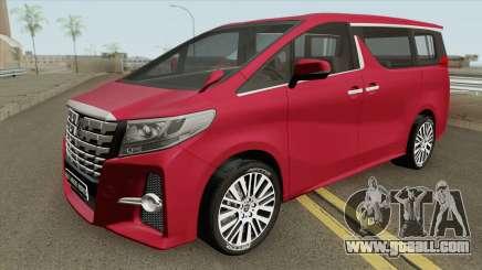 Toyota Alphard 2015 for GTA San Andreas