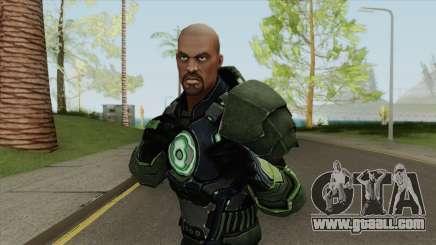 Green Lantern: John Stewart V2 for GTA San Andreas