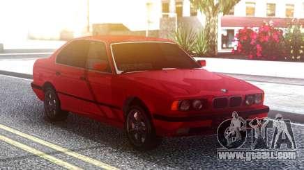 BMW 525i E34 Original Red for GTA San Andreas