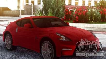 Nissan 370Z Original Red for GTA San Andreas