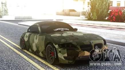 BMW Z4 Camo for GTA San Andreas