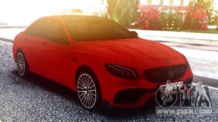 Mercedes-Benz E63 W213 02.2017 for GTA San Andreas