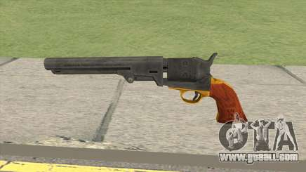 Colt 1851 Navy Revolver for GTA San Andreas