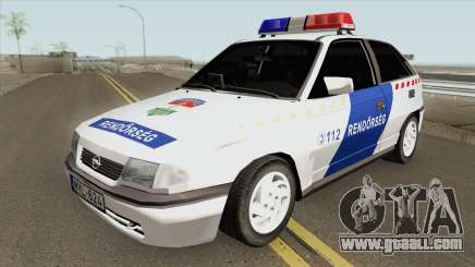 Opel F Astra Classic (Hungarian Police) V2 for GTA San Andreas