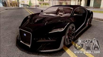 GTA V Truffade Thrax Divo Style for GTA San Andreas