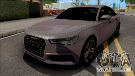 Audi A6 C7 2017 for GTA San Andreas