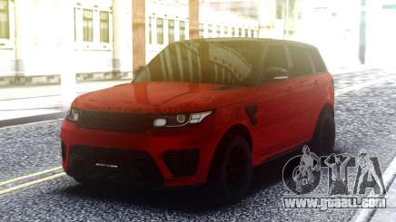 Range Rover Sport SVR Red for GTA San Andreas