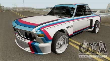 BMW 3.0 CSL 1975 (White) for GTA San Andreas