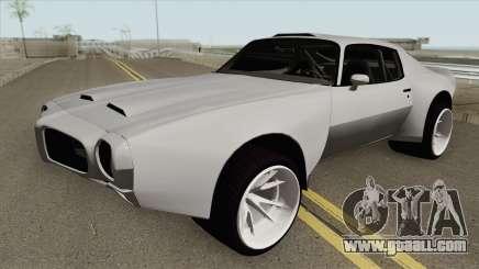 Pontiac Firebird 1970 HQ for GTA San Andreas