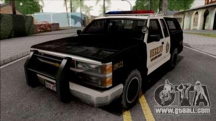 Chevrolet Silverado Police SA Style for GTA San Andreas
