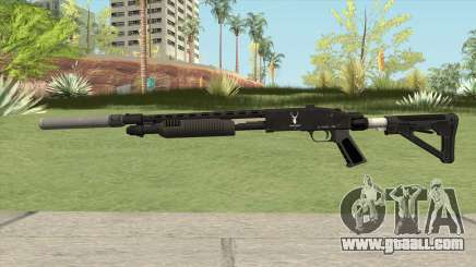 Shrewsbury Pump Shotgun GTA V V2 for GTA San Andreas
