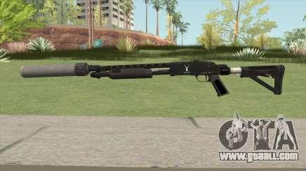 Shrewsbury Pump Shotgun GTA V V6 for GTA San Andreas
