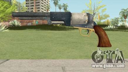 Colt Walker Revolver for GTA San Andreas