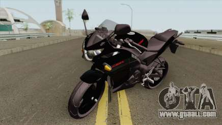 Honda CBR 125R Black for GTA San Andreas