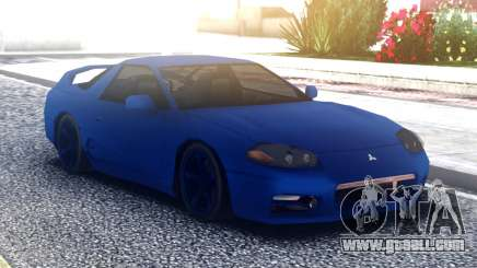 Mitsubishi 3000GT Blue for GTA San Andreas