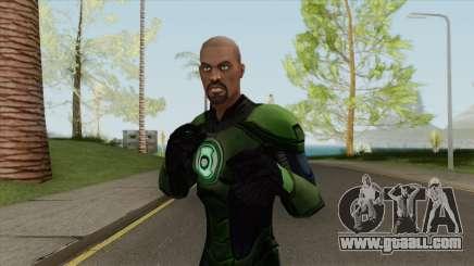 Green Lantern: John Stewart V1 for GTA San Andreas