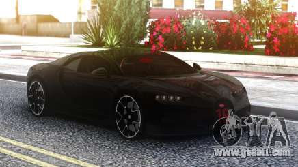 Bugatti Chiron Sport Black for GTA San Andreas
